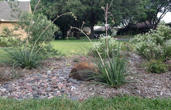 how to create a dry creek bed