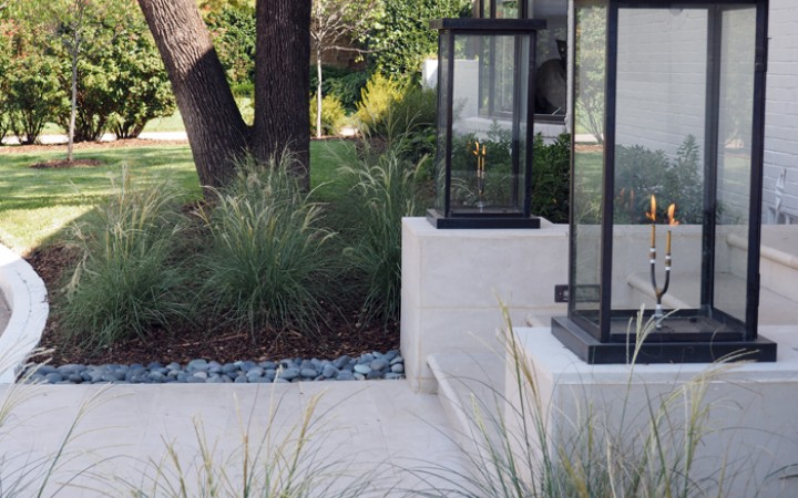 Contemporary Landscape Design Roundtree Landscaping