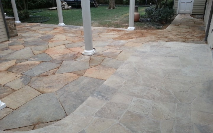 Basic Backyard Transformation: Use patios and pergolas to create new outdoor living space