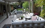 From Narrow Unused Yard to Stylish Outdoor Relaxation!